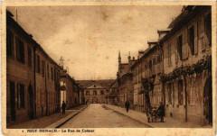 Neuf-Brisach - La Rue de Colmar - Neuf-Brisach