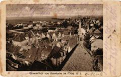 Sennheim - Cernay - Totalansicht - Vue générale - 1915 - Cernay
