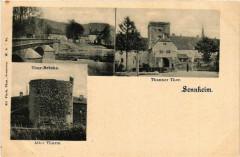 Sennheim - Cernay - THANNer Thor - Thur-Brucke - Alter THURm - Cernay