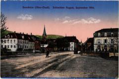 Sennheim - Cernay - Platz Scene - Cernay