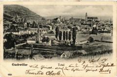 Guebwiller - Gebweiler i. Els. - Total - Vue générale - Guebwiller