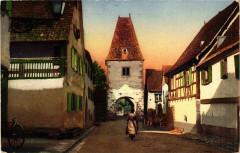 Bergheim - Rue - Strasse - Scene - Bergheim