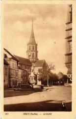 Soultz (Haut-Rhin) - La Place - Soultz-Haut-Rhin