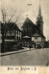 Kirche - Gruss aus Bergheim i. E. - Bergheim