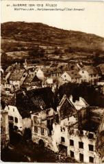 Guerre 1914-1918 Alsace Wattwiller Hartmennswillerkopf (Vieil.. - Wattwiller