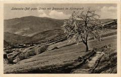 Labaroche-Bell gegen Urbeis mit Brezouarc im Hintergrund - Labaroche
