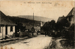 Haute-Alsace - Lauw - Entrée du Village - Lauw