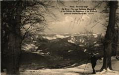 Baerenkopf - En hiver Vue sur Dolleren Oberbrick et les Vallées - Dolleren