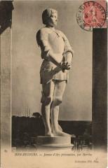 Bonsecours Jeanne d'Arc prisonniere - Bonsecours