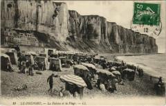 Le Treport - La Falaise et la Plage - Le Tréport