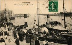 Le Treport - Embarquement pour la Promenade - Le Tréport