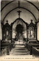 Allouville-Bellefosse - Interieur de l'Eglise - Allouville-Bellefosse