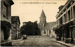 Allouville-Bellefosse - Entrée du Village - Allouville-Bellefosse
