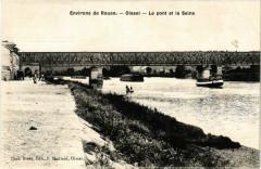 Oissel Le pont et la Seine - Oissel