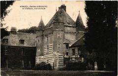 Argueil Le Chateau vue de face - Argueil