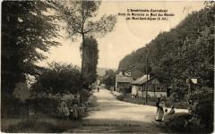 L'Americain-Carrefour Route de Maromme au Mont Aux Malades - Maromme