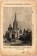 Eglise de l'Abbaye de Montivilliers arr. du Havre - Montivilliers
