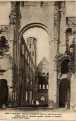 Jumieges-Ruines de l'Eglise N Dame et de la Tour carrée - Jumièges
