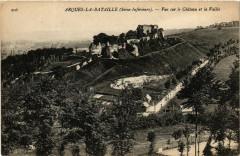 Arques-la-Bataille Vue sur le Chateau et Vallée - Arques-la-Bataille