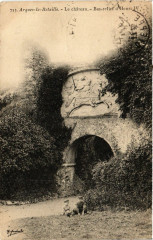 Arques-la-Bataille Le chateau Bas relief d'Henri Iv - Arques-la-Bataille