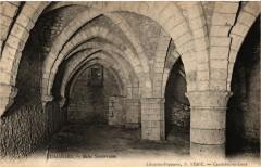 Jumieges-Salle Souterraine - Jumièges