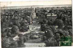 Ed. Aqua 1830 Le Havre Le Jardin Public et la rue de Paris 76 Le Havre