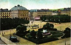 Ed. Aqua 1826 Le Havre Place Gambetta et le Theatre 76 Le Havre