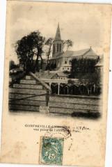 Gonfreville L'Orcher-L'Eglise vue prise de l'entrée du Parc - Gonfreville-l'Orcher