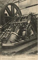 Pont-Audemer - Etablissement de la Risle machine a 4 cylindres - Pont-Audemer