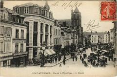 Pont-Audemer - Rue de la République - Le Marché - Pont-Audemer