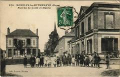 Romilly-La-Puthenaye - Bureau de poste et Mairie - Romilly-la-Puthenaye