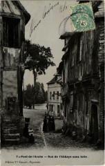 Pont-de-l'Arche (Dep.27) Rue de l'Abbaye sans toile - Pont-de-l'Arche