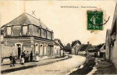 Surville - Route de Louviers - Surville
