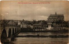 Pont de l'Arche - Perspective sur le Pont et la Ville - Pont-de-l'Arche