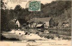 Courteilles - Le Deversoir et la Scierie de Creve-Coeur - Courteilles