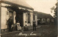 Droisy - carte photo - Droisy
