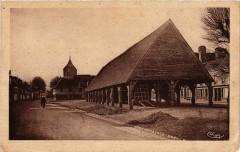 La Ferriere-sur-Risle - Les Halles (Mon.HiSaint-Xiv siécle) - La Ferrière-sur-Risle