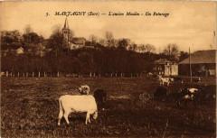Martagny - L'ancien Moulin - Un Paturage - Martagny