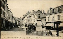 Pont-de-l'Arche - Place Hyacinthe-Langlois - Pont-de-l'Arche