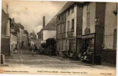 Montfort-sur-Risle - Grande-Rue - Quartier de l'Ecu - Montfort-sur-Risle