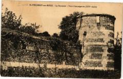 Saint-Philbert-sur-Risle - La Baronnie - Tour d'encoignure - Saint-Philbert-sur-Risle