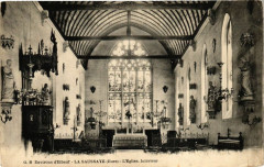 Environs d'Elbeuf - La Saussaye - L'Eglise Intérieur - La Saussaye
