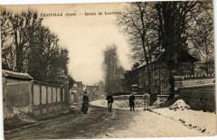 Vraiville - Route de Louviers - Vraiville