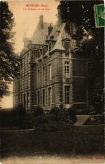 Menilles - Le Chateau vu de coté - Ménilles