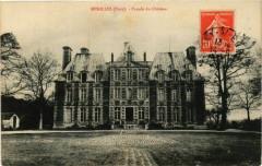 Menilles - Facade du Chateau - Ménilles