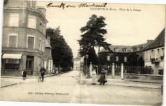 Thiberville - Place de la Pompe - Thiberville