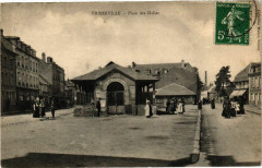 Thiberville - Place des Halles - Thiberville