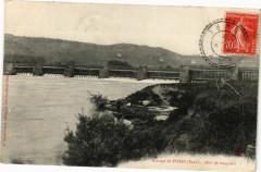 Barrage de Poses - 280m de longueur - Poses