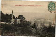 Amécourt - L'Eglise et Panorama de Talmontier - Amécourt