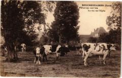 Bouchevilliers - Paturage sur les bords de l'Epte - Bouchevilliers